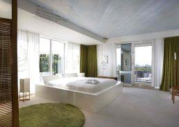 John en Yoko suite Hilton Amsterdam kamer