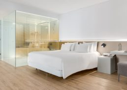 Skyline suite Rotterdam slaapkamer