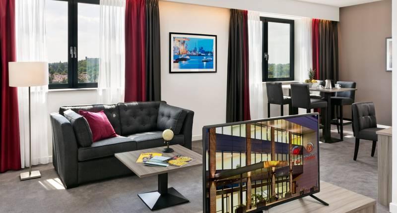Junior suite Wings Hotel Rotterdam Airport
