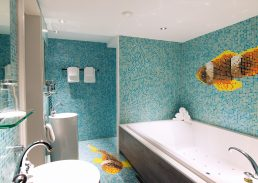 Luxe Mexico suite Hotel Schiphol A4 badkamer