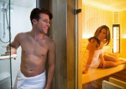 Sauna suite Hotel Schiphol A4 stoomdouchecabine