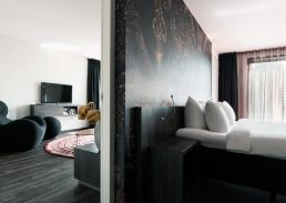 Spa suite Mainport Hotel Rotterdam slaapkamer