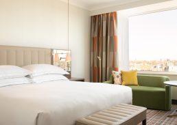 Twin Junior suite Hilton Amsterdam kamer